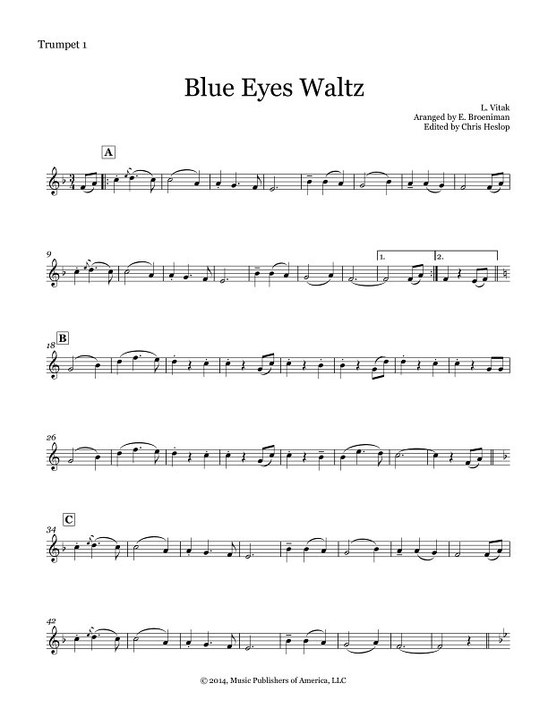 blue eyes waltz