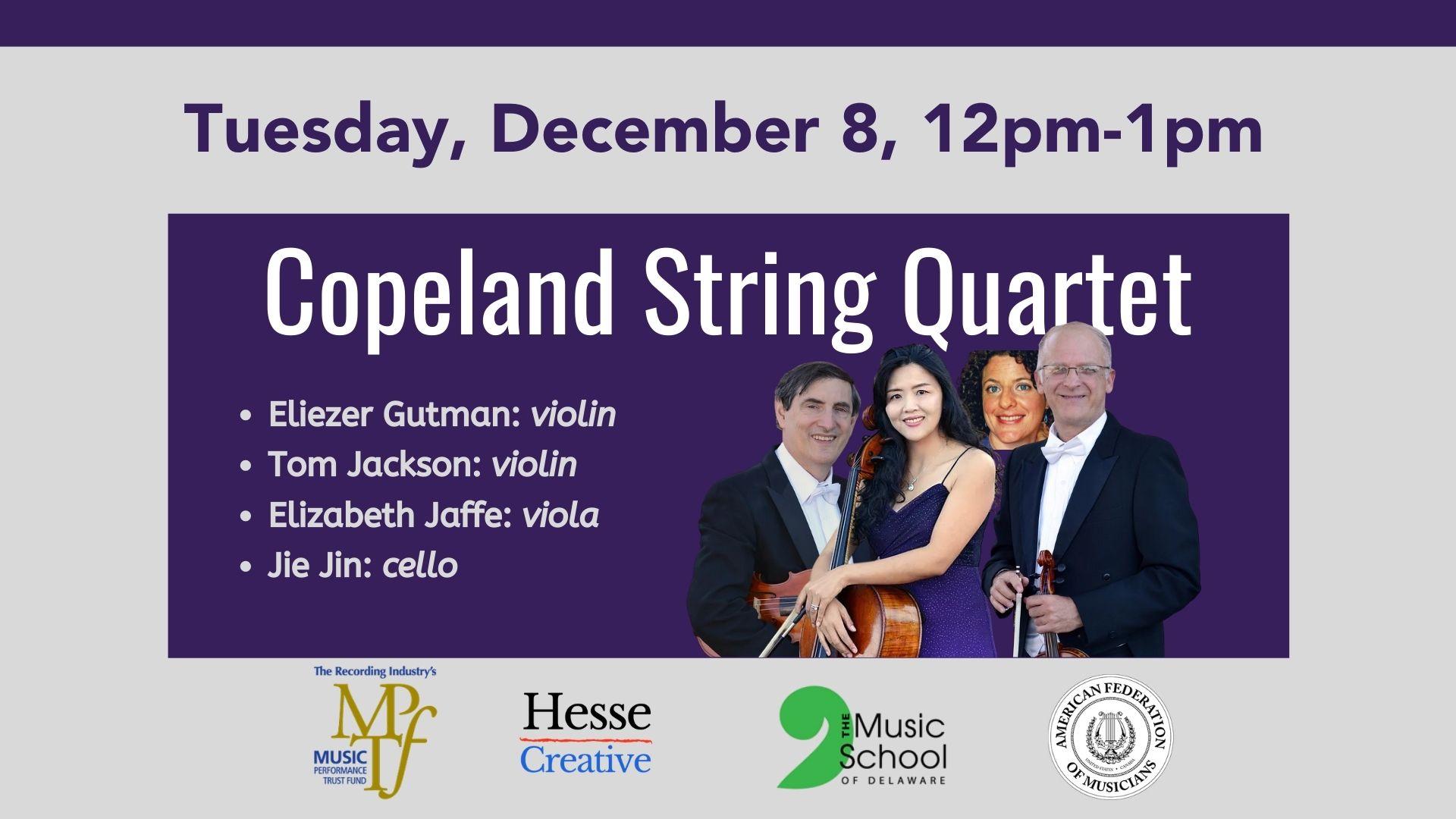 copeland string quartet