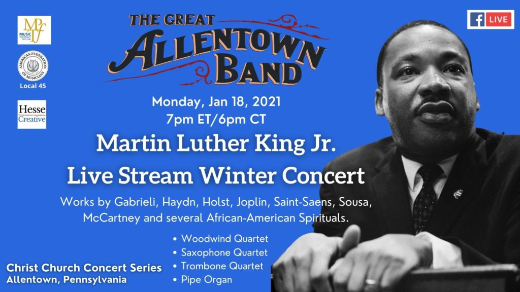 Allentown Band MLK concert